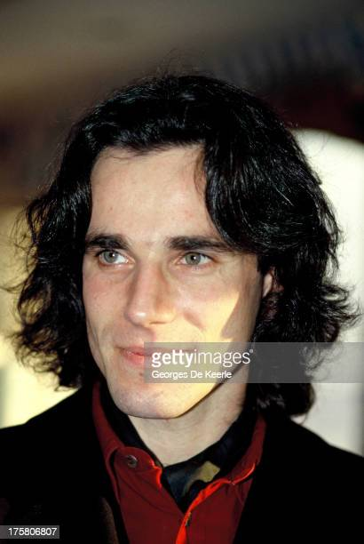 Actor Daniel DayLewis in 1989 ca in London England