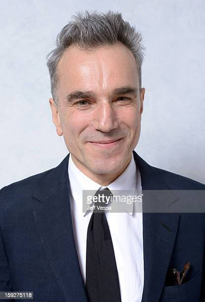 Actor Daniel DayLewis poses for a portrait during the 18th Annual Critics' Choice Movie Awards at The Barker Hanger on January 10 2013 in Santa...