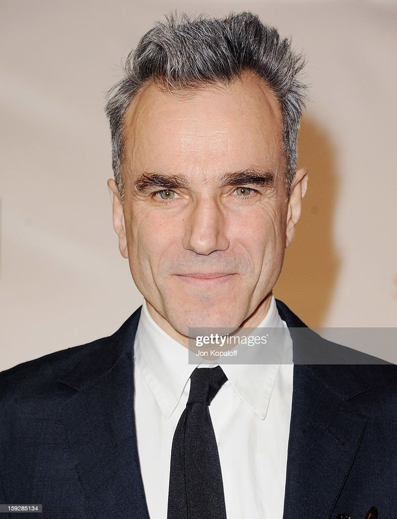 Actor <a gi-track='captionPersonalityLinkClicked' href=/galleries/search?phrase=Daniel+Day-Lewis&family=editorial&specificpeople=211475 ng-click='$event.stopPropagation()'>Daniel Day-Lewis</a> poses in the press room at the 18th Annual Critics' Choice Movie Awards at Barker Hangar on January 10, 2013 in Santa Monica, California.