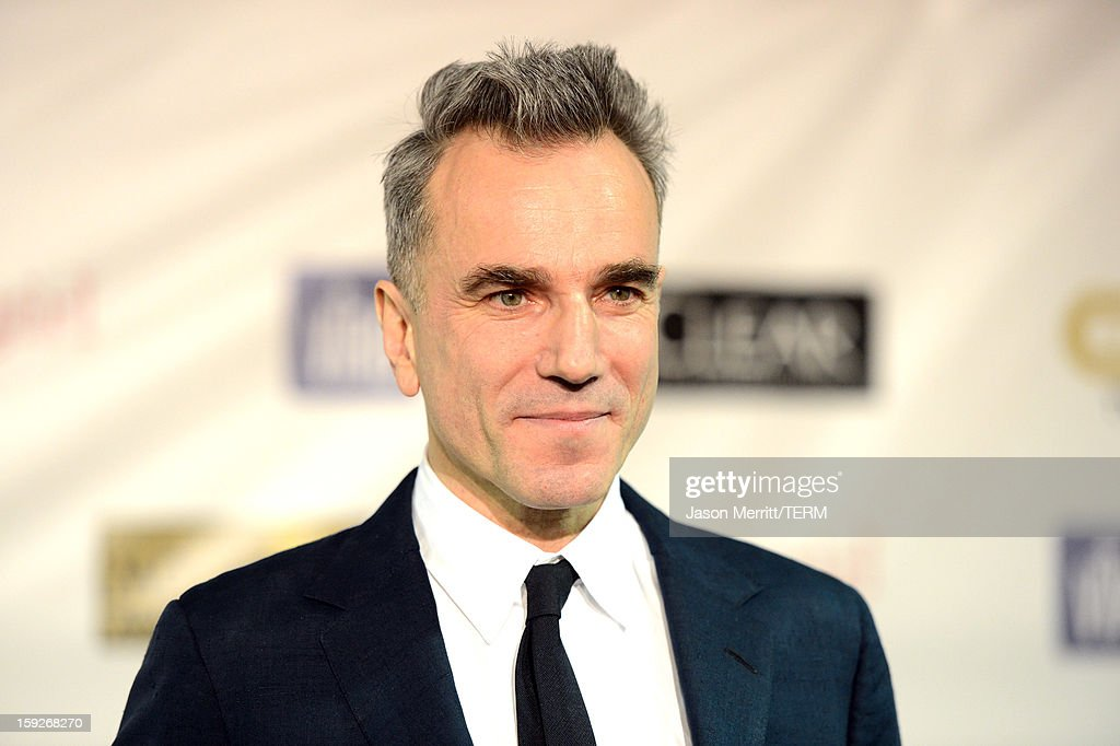 Actor <a gi-track='captionPersonalityLinkClicked' href=/galleries/search?phrase=Daniel+Day-Lewis&family=editorial&specificpeople=211475 ng-click='$event.stopPropagation()'>Daniel Day-Lewis</a>, winner of Best Actor for 'Lincoln,' poses in the press room at the 18th Annual Critics' Choice Movie Awards held at Barker Hangar on January 10, 2013 in Santa Monica, California.