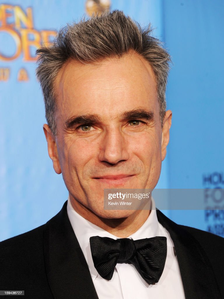 Actor <a gi-track='captionPersonalityLinkClicked' href=/galleries/search?phrase=Daniel+Day-Lewis&family=editorial&specificpeople=211475 ng-click='$event.stopPropagation()'>Daniel Day-Lewis</a>, winner of Best Actor in a Motion Picture (Drama) for 'Lincoln,' poses in the press room during the 70th Annual Golden Globe Awards held at The Beverly Hilton Hotel on January 13, 2013 in Beverly Hills, California.