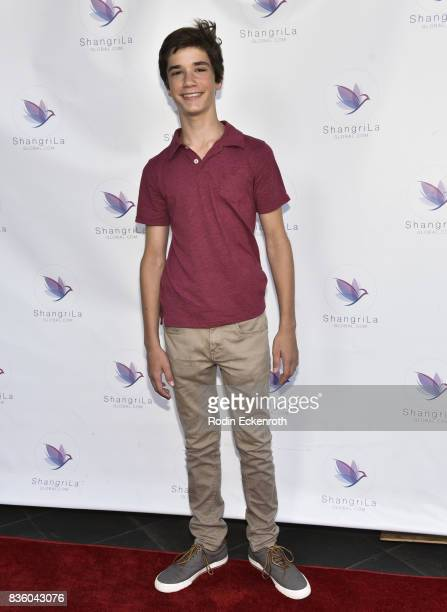 Actor Daniel DiMaggio attends the ShangriLa global launch and popup store on August 20 2017 in Beverly Hills California