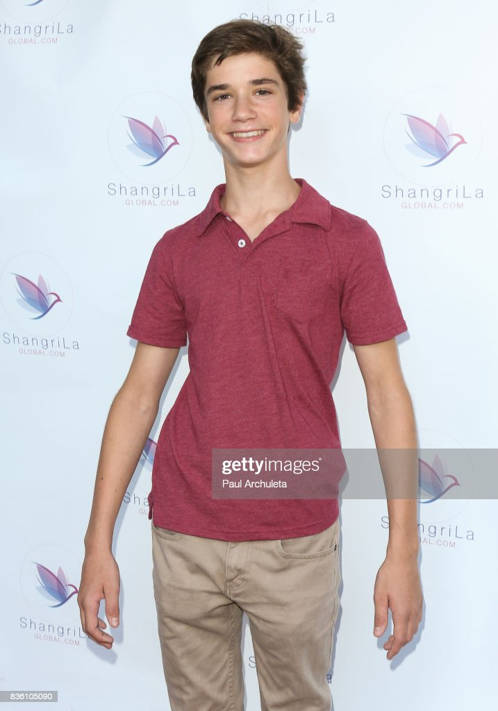 Actor Daniel DiMaggio attends the ShangriLa global launch and pop-up store on August 20, 2017 in Beverly Hills, California.