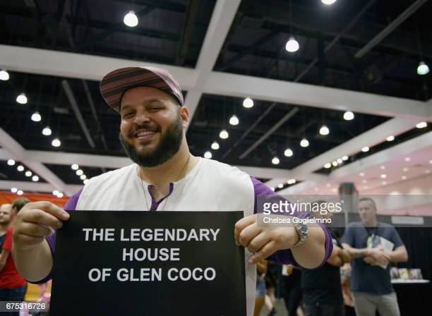 Actor Daniel Franzese poses during the 3rd Annual RuPaul's DragCon day 2 at Los Angeles Convention Center on April 30 2017 in Los Angeles California