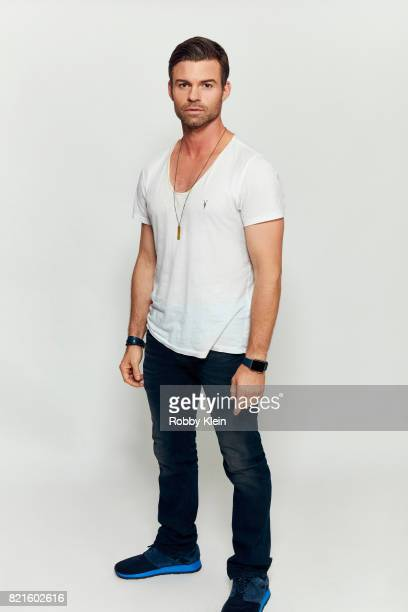 Actor Daniel Gillies from CW's 'The Originals' poses for a portrait during ComicCon 2017 at Hard Rock Hotel San Diego on July 22 2017 in San Diego...