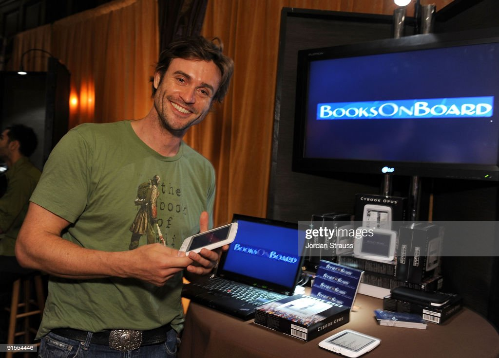 Actor Daniel Goddard poses in the Daytime Emmy official gift lounge produced by On 3 Productions held at The Orpheum Theatre on August 29, 2009 in Los Angeles, California.