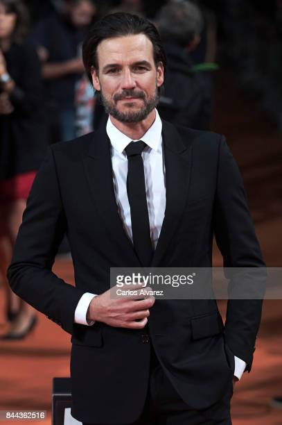 Actor Daniel Grao attends the 'La Catedral del Mar' premiere at the Principal Teather during the FesTVal 2017 on September 8 2017 in VitoriaGasteiz...