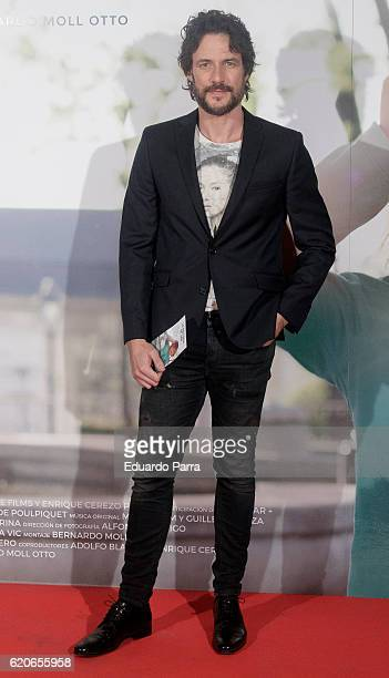 Actor Daniel Grao attends the 'La historia de Jan' photocall at Verdi cinema on November 2 2016 in Madrid Spain