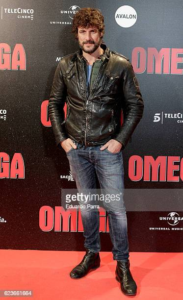 Actor Daniel Grao attends the 'Omega' premiere at Capitol cinema on November 16 2016 in Madrid Spain