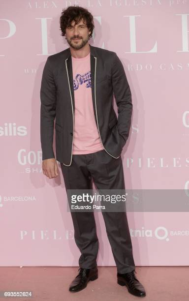 Actor Daniel Grao attends the 'Pieles' premiere at Capitol cinema on June 7 2017 in Madrid Spain