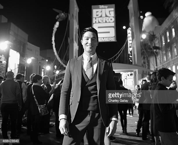 "Actor Daniel Henney attends the Los Angeles Premiere of Walt Disney Animation Studios' ""Big Hero 6' at El Capitan Theatre on November 4 2014 in..."
