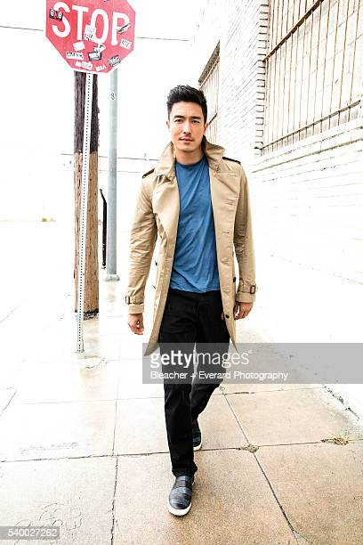 Actor Daniel Henney is photographed for August Man on February 28 2014 in Los Angeles California Styling Erin McSherry Stacey Kalchman Grooming Suzie...