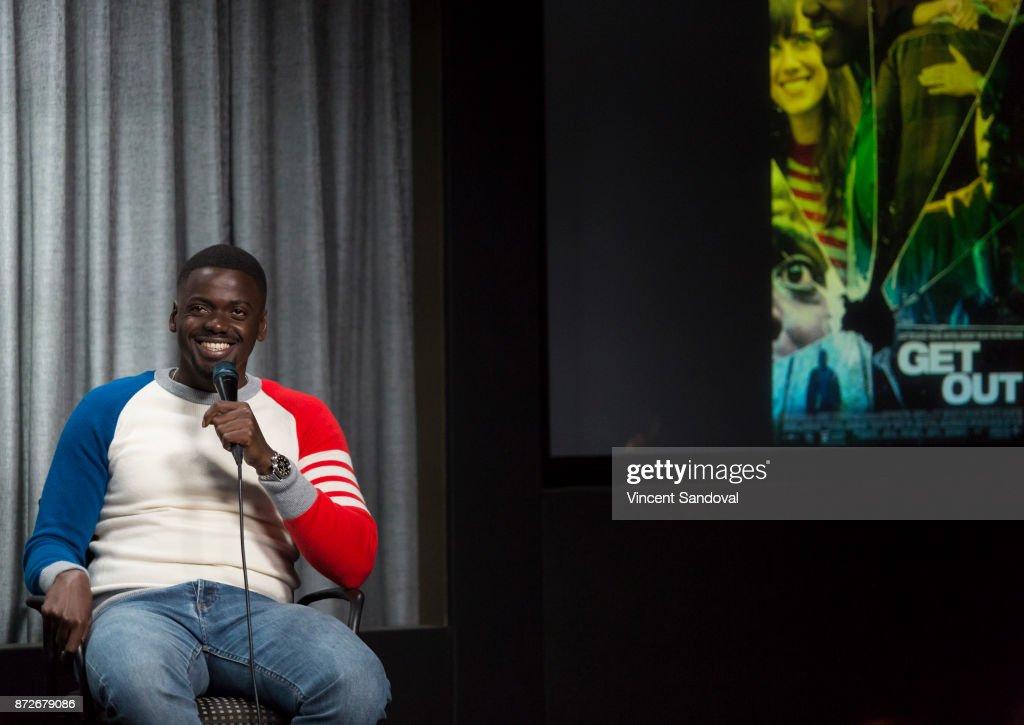 Actor Daniel Kaluuya attends SAG-AFTRA Foundation Conversations screening of 'Get Out' at SAG-AFTRA Foundation Screening Room on November 10, 2017 in Los Angeles, California.
