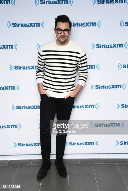 Actor Daniel Levy visits the SiriusXM Studio on February 6 2017 in New York City