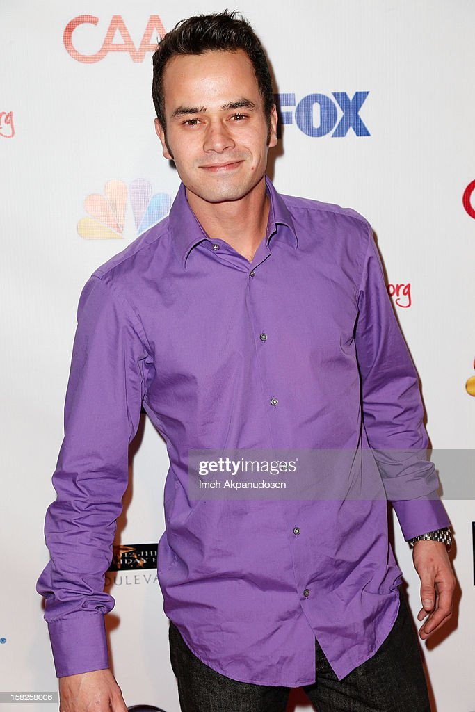 Actor Daniel Logan attends the Junior Hollywood Radio & Television Society (JHRTS) Holiday Party at Boulevard3 on December 11, 2012 in Hollywood, California.
