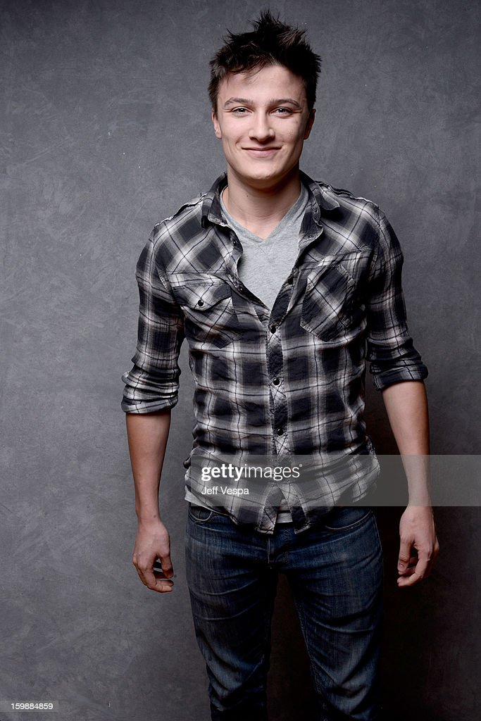 Actor Daniel Manche poses for a portrait during the 2013 Sundance Film Festival at the WireImage Portrait Studio at Village At The Lift on January 22, 2013 in Park City, Utah.