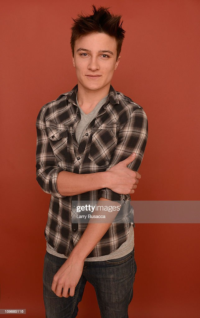 Actor Daniel Manche poses for a portrait during the 2013 Sundance Film Festival at the Getty Images Portrait Studio at Village at the Lift on January 22, 2013 in Park City, Utah.