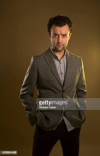 Actor Daniel Mays is photographed for the Observer on September 17 2014 in London England