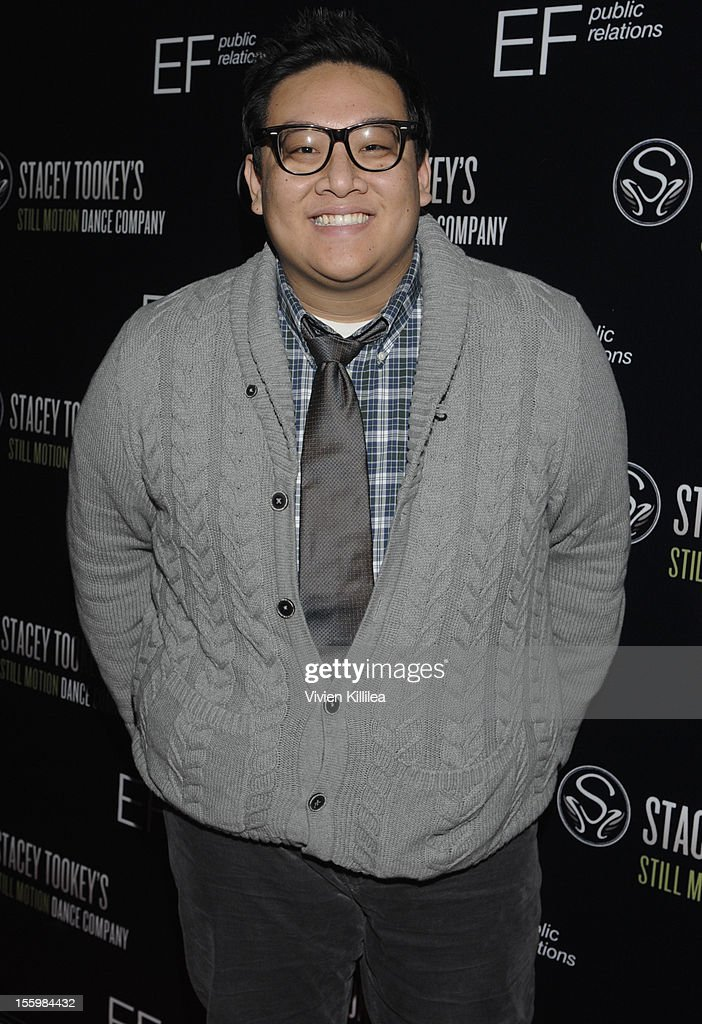 Actor Daniel Nguyen attends FOX's 'So You Think You Can Dance' Stacey Tookey Debuts 'Moments Defined' Dance Company at Nate Holden Theatre Center on November 9, 2012 in Los Angeles, California.