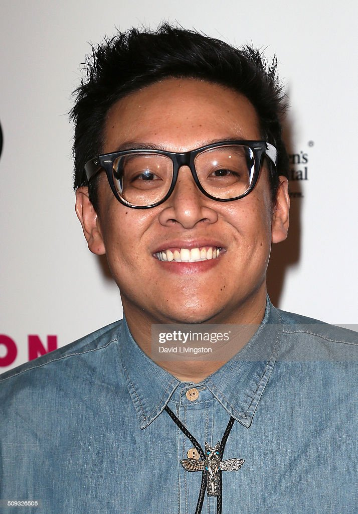 Actor Daniel Nguyen attends the Muses and Music party hosted by NYLON Magazine at No Vacancy on February 9, 2016 in Los Angeles, California.