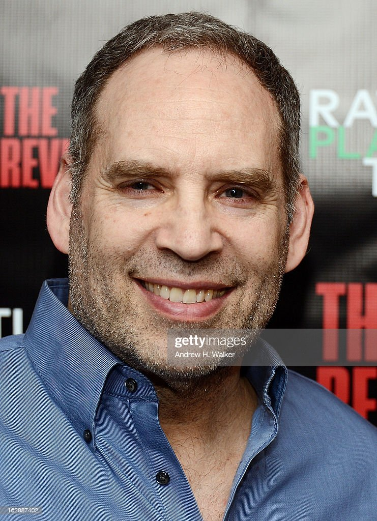 Actor Daniel Oreskes attends 'The Revisionist' opening night at Cherry Lane Theatre on February 28, 2013 in New York City.