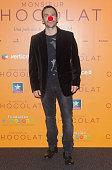 Actor Daniel Ortiz attends 'Monsieur Chocolat' premiere at Kinepolis cinema on April 28 2016 in Madrid Spain