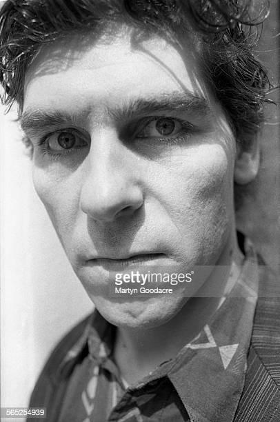 Actor Daniel Peacock portrait Soho London United Kingdom 1991