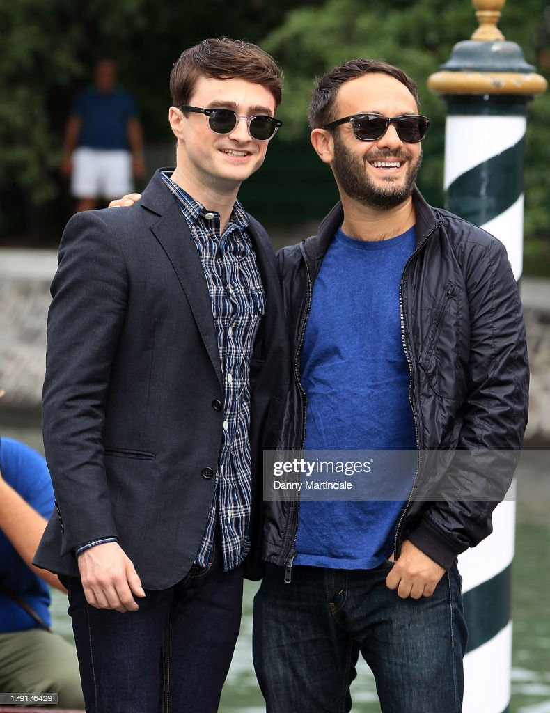 Actor <a gi-track='captionPersonalityLinkClicked' href=/galleries/search?phrase=Daniel+Radcliffe&family=editorial&specificpeople=204144 ng-click='$event.stopPropagation()'>Daniel Radcliffe</a> and director John Krokidas attend day 5 of the 70th Venice International Film Festival on September 1, 2013 in Venice, Italy.