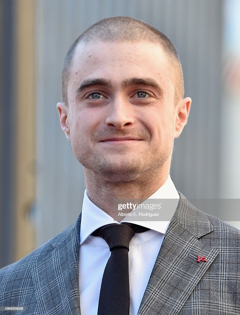 Actor <a gi-track='captionPersonalityLinkClicked' href=/galleries/search?phrase=Daniel+Radcliffe&family=editorial&specificpeople=204144 ng-click='$event.stopPropagation()'>Daniel Radcliffe</a> attends a ceremony honoring him with the 2,565th star on the Hollywood Walk of Fame on November 12, 2015 in Hollywood, California.