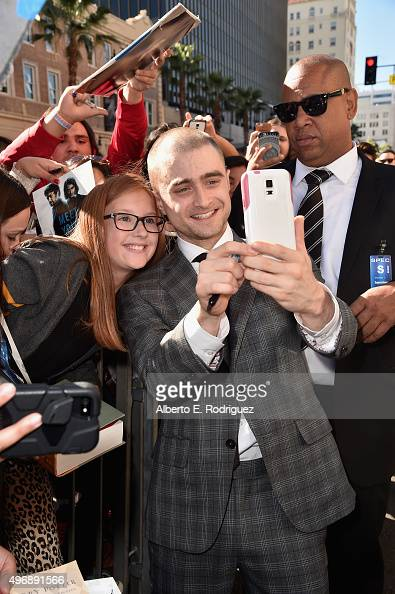 Actor Daniel Radcliffe attends a ceremony honoring him with the 2565th star on the Hollywood Walk of Fame on November 12 2015 in Hollywood California