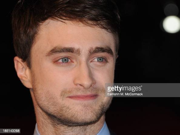 Actor Daniel Radcliffe attends a screening of 'Kill Your Darlings' during the 57th BFI London Film Festival at Odeon West End on October 17 2013 in...