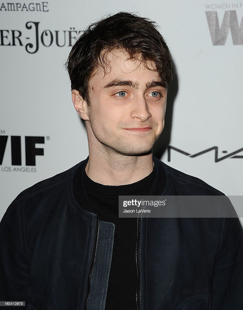 Actor Daniel Radcliffe attends the 6th annual Women In Film pre-Oscar cocktail party at Fig & Olive Melrose Place on February 22, 2013 in West Hollywood, California.