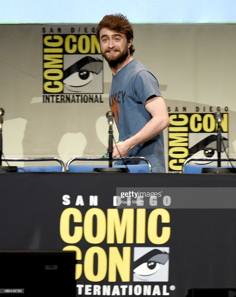 Actor Daniel Radcliffe from 'Victor Frankenstein' attends the 20th Century FOX panel during Comic-Con International 2015 at the San Diego Convention Center on July 11, 2015 in San Diego, California.