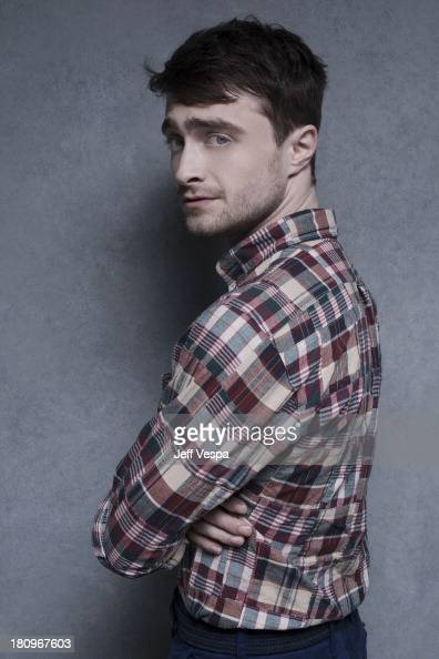 Actor Daniel Radcliffe is photographed at the Toronto Film Festival on September 8 2013 in Toronto Ontario