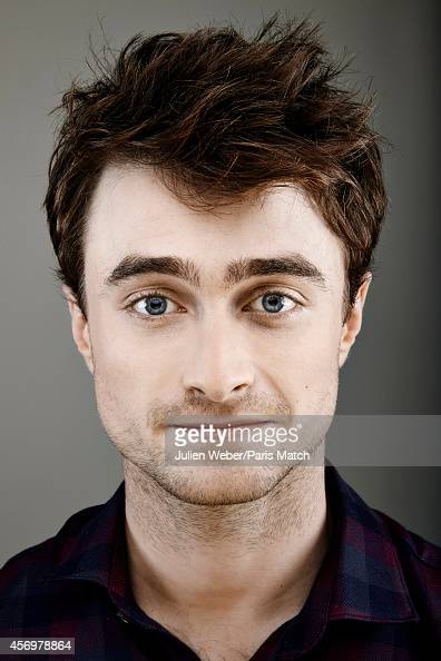 Actor Daniel Radcliffe is photographed for Paris Match on September 17 2014 in Paris France