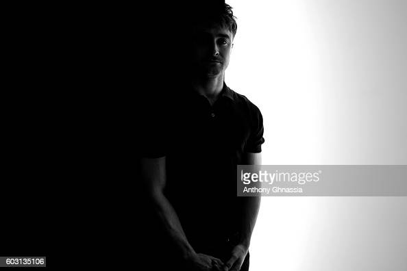 Actor Daniel Radcliffe is photographed for Self Assignment on September 4 2016 in Deauville France