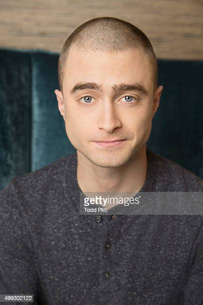 Actor Daniel Radcliffe is photogrpahed for USA Today on November 10 2015 in New York City