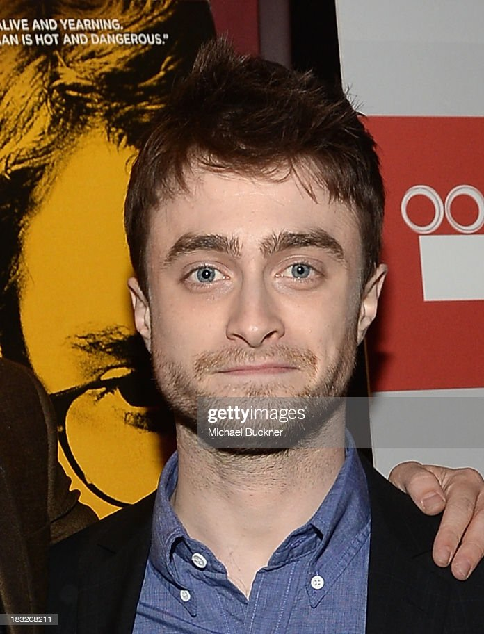 Actor <a gi-track='captionPersonalityLinkClicked' href=/galleries/search?phrase=Daniel+Radcliffe&family=editorial&specificpeople=204144 ng-click='$event.stopPropagation()'>Daniel Radcliffe</a> speaks at the Q&A for the Variety Screening Series Presents Sony Pictures Classics' 'Kill Your Darlings' at ArcLight Hollywood on October 5, 2013 in Hollywood, California.