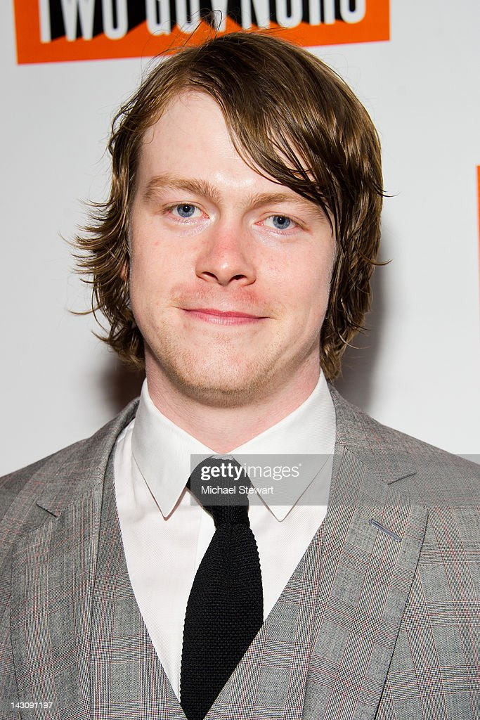 Actor Daniel Rigby attends the 'One Man, Two Guvnors' opening night party at The Liberty Theatre on April 18, 2012 in New York City.