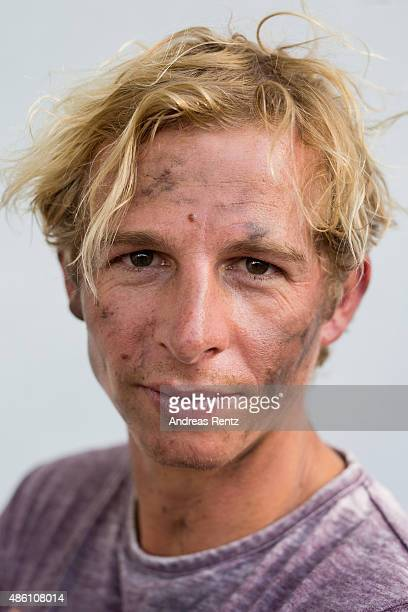 Actor Daniel Roesner poses for a portrait during the photocall for the action series 'Alarm Fuer Cobra 11' on August 31 2015 in Cologne Germany