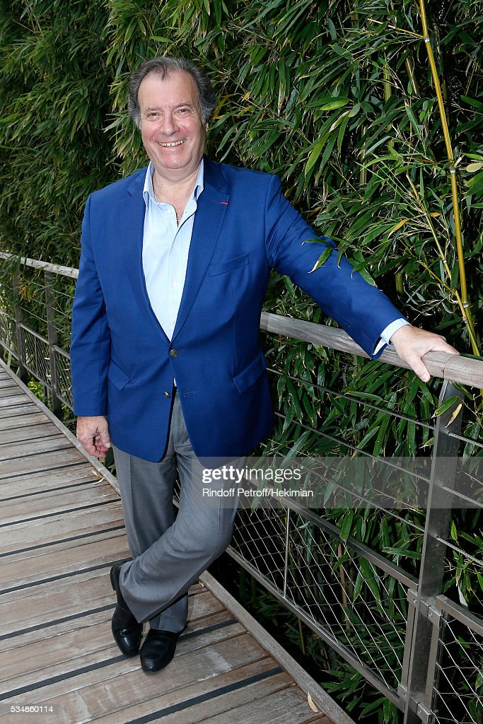 Actor Daniel Russo attends Day Seven of the 2016 French Tennis Open at Roland Garros on May 28, 2016 in Paris, France.