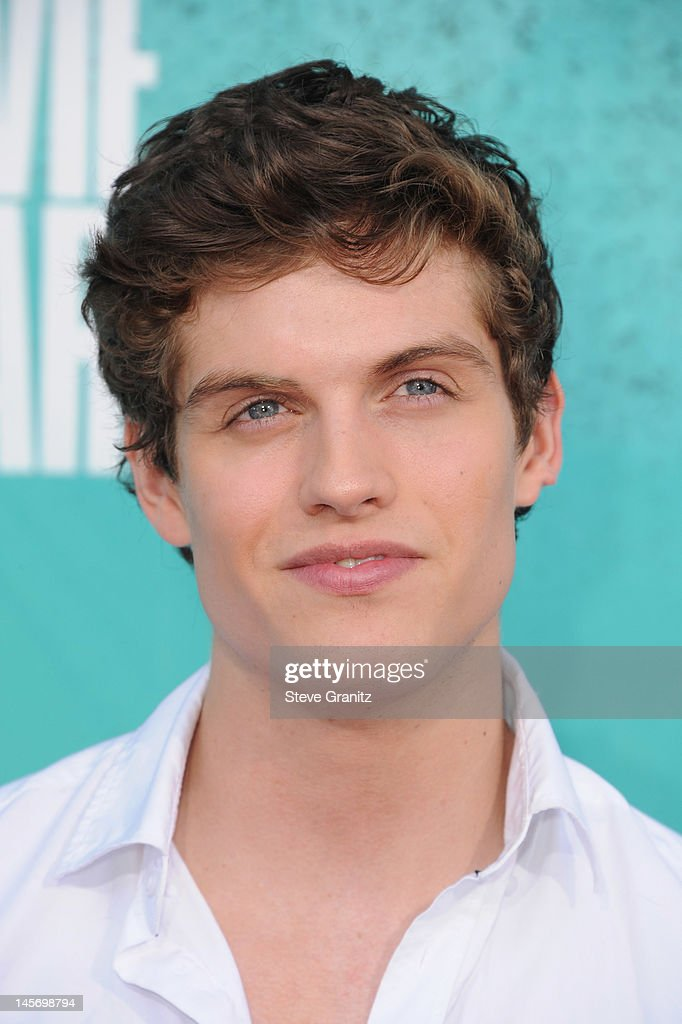 Actor Daniel Sharman arrives at the 2012 MTV Movie Awards at Gibson Amphitheatre on June 3, 2012 in Universal City, California.