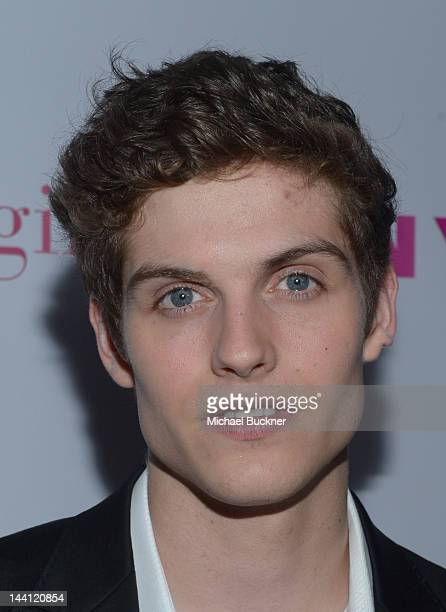 Actor Daniel Sharman attends the NYLON Magazine and Tommy Girl Annual May Young Hollywood Issue Party at Hollywood Roosevelt Hotel on May 9 2012 in...