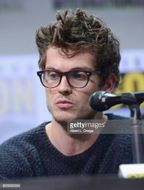 Actor Daniel Sharman speaks onstage at ComicCon International 2017 AMC's 'Fear The Walking Dead' Panel at San Diego Convention Center on July 21 2017...