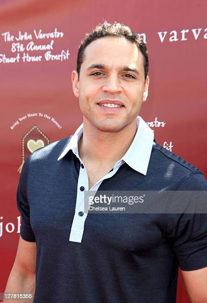 Actor Daniel Sunjata attends John Varvatos 8th Annual Stuart House Benefit featuring KD Lang at John Varvatos Los Angeles on March 13 2011 in Los...