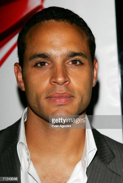 Actor Daniel Sunjata attends the 20th Century Fox premiere of The Devil Wears Prada at the Loews Lincoln Center Theatre on June 19 2006 in New York...