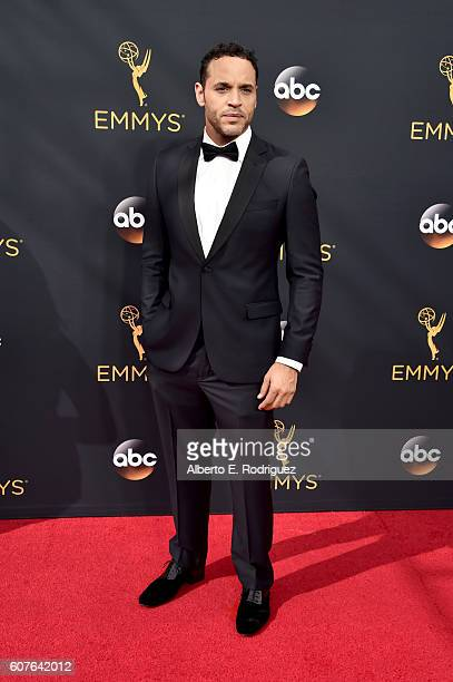 Actor Daniel Sunjata attends the 68th Annual Primetime Emmy Awards at Microsoft Theater on September 18 2016 in Los Angeles California