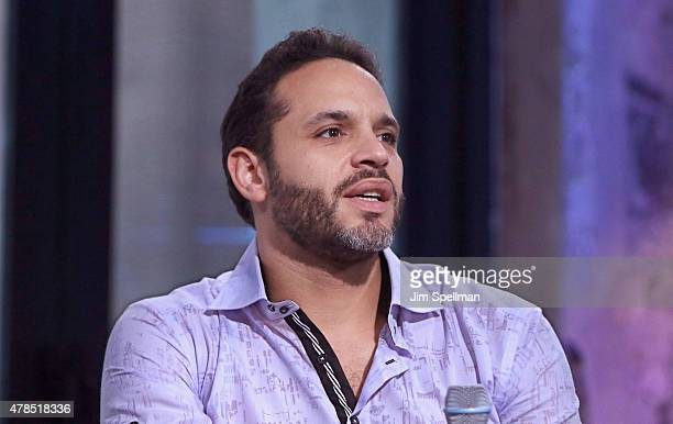 Actor Daniel Sunjata attends the AOL BUILD Speaker Series Presents 'Graceland' at AOL Studios In New York on June 25 2015 in New York City