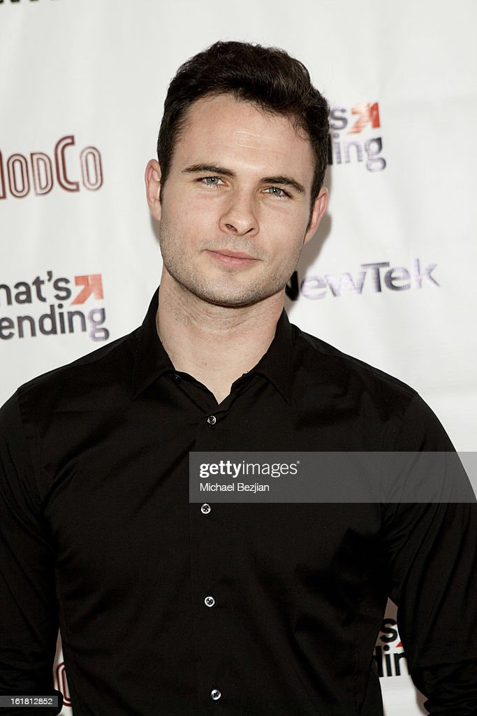 Actor Daniel Vincent Gordh attends The Future Of Online Television at What's Trending Studios on February 15, 2013 in Los Angeles, California.