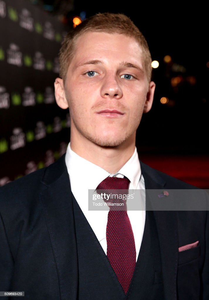 Actor <a gi-track='captionPersonalityLinkClicked' href=/galleries/search?phrase=Daniel+Webber+-+Actor&family=editorial&specificpeople=15185137 ng-click='$event.stopPropagation()'>Daniel Webber</a> attends the Hulu Original '11.22.63' premiere at the Regency Bruin Theatre on February 11, 2016 in Los Angeles, California.